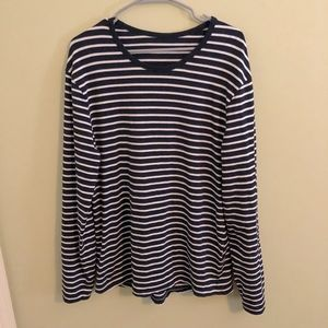 lululemon athletica Shirts - Lululemon 5 Year Basic Striped Long Sleeve Tee